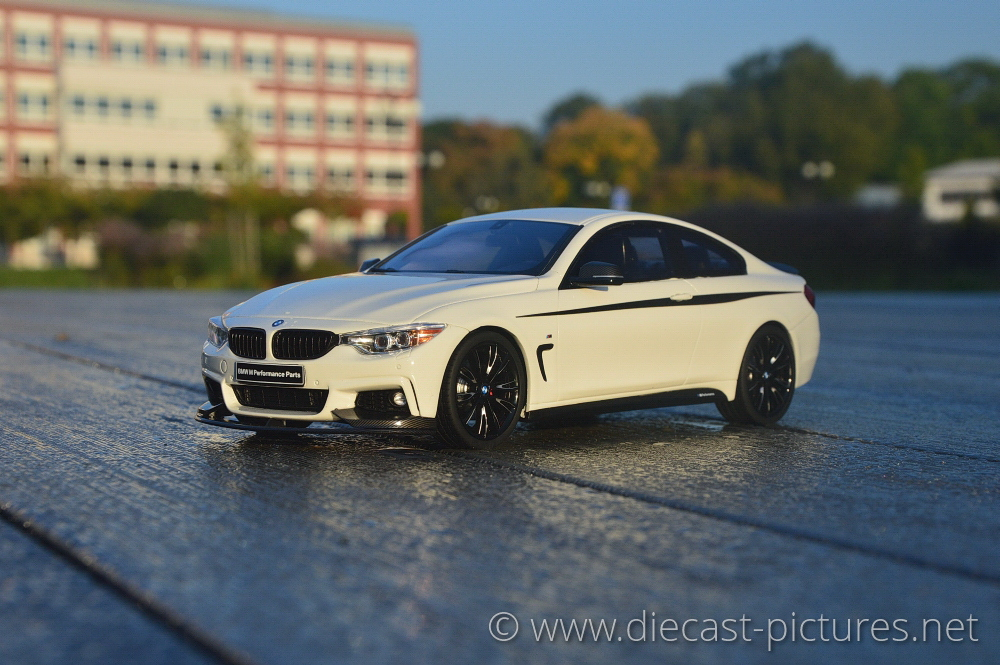 BMW 435i M F32 White GT Spirit 1:18