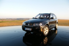 BMW X3 E83 Black Kyosho 1:18