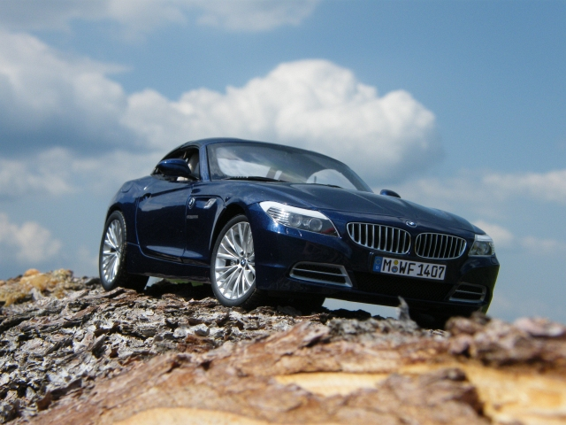 Bmw Z4 E89 Blue Kyosho 1 18