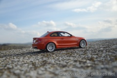 BMW 1M E82 Orange GT Spirit 1:18