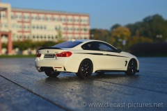 BMW 435i M Performance F32 White GT Spirit 1:18